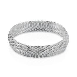 Factory direct wholesale 925 Sterling Silver Bangle Bracelet hand - a small net silver bracelet Jewelry Fashion