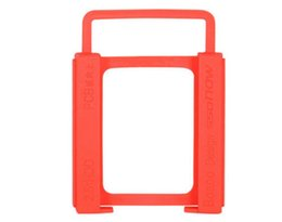Wholesale 2 to Adapter Bracket SSD HDD Notebook Hard Disk Drive Holder New Useful