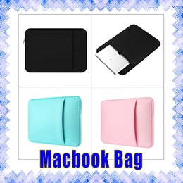 Wholesale Laptop Sleeve Case Bag Apple Samsung Tablet Soft inside Protective Bag for Macbook pro air Retina High Quality