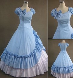 (GT025) Sleeveless Gothic VictorianLolita Dress Ball Gown Fancy Prom Dress Halloween Party Masquerade Costume XS S M L XL XXL