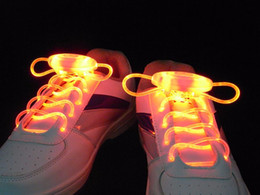 3rd Generation Pair LED Sport Shoelaces Colored Neon Shoe Laces for Sneakers Luminous Rope Laces Novelty Lock Laces NIGHT015