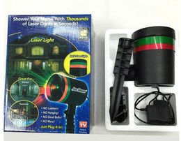 Wholesale Outdoor Garden Decoration Waterproof Laser Light Christmas Light