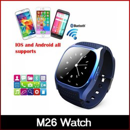 Newest Bluetooth Smart Watches M26 Watch for iPhone 6 4 4S 5 5S Samsung S5 S4 Note 3 HTC Android Phone