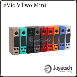 Wholesale Joyetech eVic VTwo Mini W VW TC Mod a Upgrading Version of eVic VTC Mini Mod Supports RTC Real Time Clock Display Original
