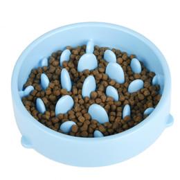 Wholesale 30pcs Jungle Bowl Slow Feeder Dog Bowl Anti Choke Pet Dog Cat Feeding Bowl Puppy Slow Down Eating Feeder Dish