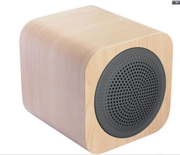 Wholesale 2016 Popular asthetic product from Manufacturer AVWOO Classical Mini Wooden Bluetooth Speaker with high quality and promotion price