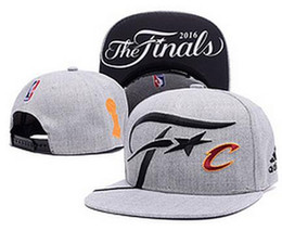 Wholesale Finals SnapBack Hat Cleveland CAVS Locker Room Official Basketball Snap Back Hats Black Hip Hop Snapbacks High Quality Players Sports