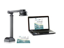 Eloam 10 Mega Pixels High Speed Business Card Book Visual Presenter Portable Document Scanner