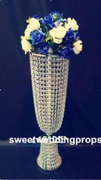 Crystal Stand Wedding Centerpiece Flower stand