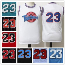 Wholesale With Logo name Stitched Swingman SW Michael MJ Tune Squad Jersey Cheap Retro All star Hot Throwback Gift jerseys Sport HOT