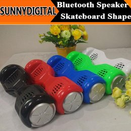 Wholesale H7 Skateboard Scooter Design Smart Balance Car Speaker Bluetooth Mini Protable Wireless Stereo Speakers Stereo Music Player TF Card USB Disk