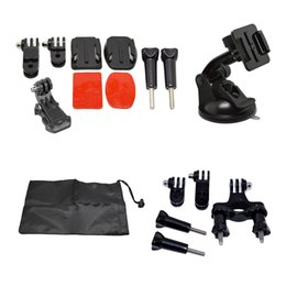 Camera Accessories Kits Helmet Front Mount with Bike Roll Mount For GoPro Hero 1 2 3 3+ 4