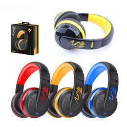 MX666 Stereo Bluetooth Gaming Headset Wireless With MIC Support Hands-Free TF Card FM Radio for Smartphones