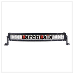 "23"" Inch 120W CREE Curved LED Light Bar for Work Driving Boat Car Truck 4x4 SUV ATV Off Road Fog Lamp 12v 24v"
