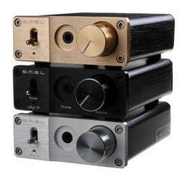 Wholesale SMSL sAp VI Portable Big Power Hi Fi Stereo Headphone Amplifier KHZ BIT mm input output