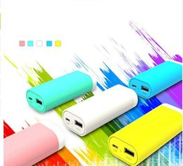 Portable Power Bank 5200mAh Polymer Powerbank Mobile Charger External Battery Chargers Backup for Universal Smart Phones