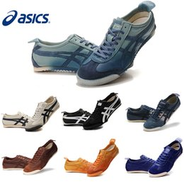 Wholesale Asics Running Shoes For Men Women Onitsuka Tiger Professional Sport Shoes Lightweight Classic Shoes Sport Sneakers Size
