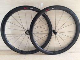 Wholesale road bicycle full carbon mm depth dimple wheels racing wheelset clincher mm width basalt braking surface