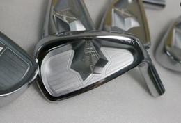 George Spirits 3D Iron Set George Spirits Golf Forged Irons Golf Clubs iron head4-9 10w(7PCS)