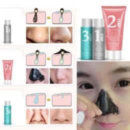 Nose Blackhead Remover Acne Mask Pore Cleanser Shrinking Pores Black Head 3pcs YT56 Cheap black head