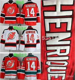 2016 New, Cheap Discount Men's New Jersey Devils Hockey Jerseys #14 Adam Henrique Jersey Home Red Road White Stitched Jerseys All