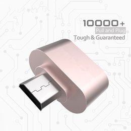 Wholesale High Quality Micro USB OTG Hug Converter Camera OTG Adapter for Tablet Android Mobile Phone Samsung Galaxy S7 S6 S5 LG HTC Cable Reader
