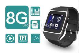 """8gb tactile à vendre-Nouveaux produits 8Go Smart Watch Bluetooth MP4 MP3 Lecteur de musique avec 1,5 """"écran tactile Support Bluetooth FM Pedo Mètre World Clock Fonction"""