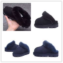 Wholesale Cotton shoe care The new cotton slippers for men and women lovers household slippers to keep warm shoes pantoufle homme in the fall and wint