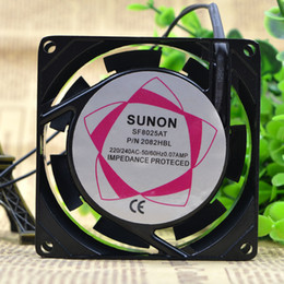 Wholesale New SUNON V sf8025at CM AC fan double ball axial flow fan