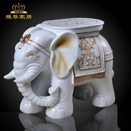 Wholesale Home decoration resin craft lucky white shoes stool wood decoration a pair of