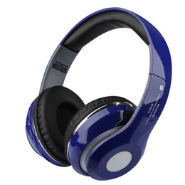 Wholesale Portable Wireless Bluetooth Headphones Headband STN Stereo Noise Cancelling Headphone Headset With Built in Mic TF Card FM Radio