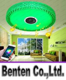 Étude sur les enfants en Ligne-Chambre de plafond de plafond Smartphone contrôlée Lampe LED Bluetooth Musique Led Ceiling Light art décembre éclairage étude enfants Lampe LLFA