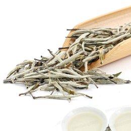 Wholesale 100 Organic Silver Needle Whit Tea Chinese Bai Hao Yin Zhen Loose Leaf Tea g