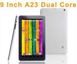 Android Tablets 9 inch Capacitive Screen Tablet PC Allwinner A23 512MB RAM 8GB ROM Bluetooth WIFI Dual cameras