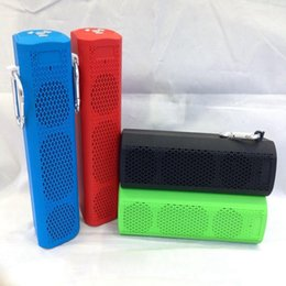 Wholesale X6 Bluetooth Speaker Portable Super Bass Speakers Wireless Mini Speaker radio function options For Iphone Samsung Any Mobile Phone
