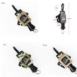 4 Color Tactical Gear Retractor For Tactical Backpack Outdoor Hiking Camping Travel Kit