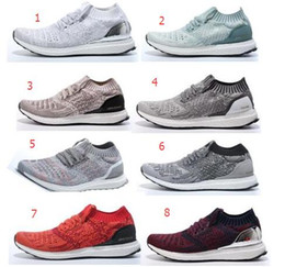 Wholesale Ultra Boost uncaged solebox Uncaged Gray SNS White Uncaged Red Black Grey Uncaged in Black Solid Clear Grey Socks Ultra Boost Flywire Shoes