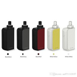 E Cigarette Kit Authentique Joyetech eGo AIO Boîte de démarrage avec 2ml e-Juice Capacité 2100mAh Built-in Batterie All-In-ONE Style 100% Original à partir de commencer ego kit fabricateur