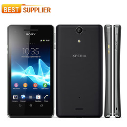 "Sony LT25i Original Unlocked Sony Xperia V Cell phone 4.3"" Android 4.0 Dual core 3G WIFI GPS 1GB RAM EMS DHL Free shipping"