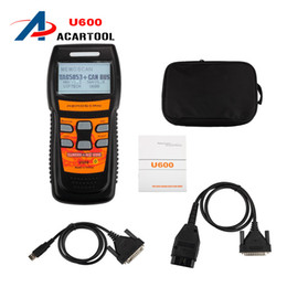 Wholesale Advanced OBD2 Memoscan U600 Diagnostic Scanner Tool for VW for Audi U600 OBD2 CAN BUS Code Reader Live Data Update online