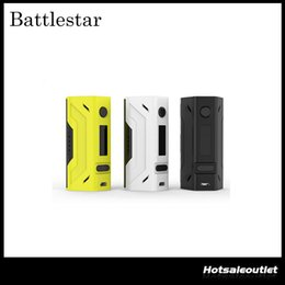 Wholesale Authentic Smoant Battlestar W TC Box Mod Support Ni Ti SS NC TCR Best Match with Smoant Mobula RTA Original DHL Free