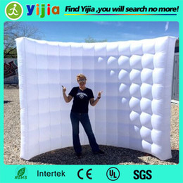 Wholesale Best quality color changing led light inflatable wall