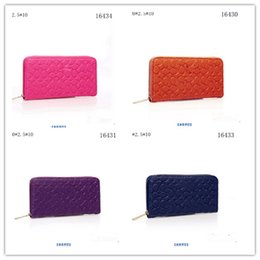Wholesale 2016 Women Wallets New Winter Fashion Trends Pumping Multi card Position Two Fold Wallet lady Long Zipper Purse Card Holder European and Ame