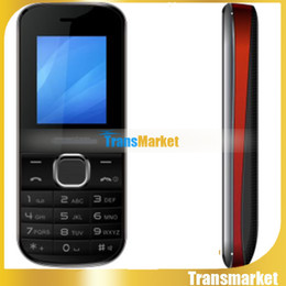 """Cell Phone for Old People Newest Big Button 1.8"""" Inch Black Orange Display GSM Dual SIM Bluetooth Email MP3 FM Radio SOST174i"""