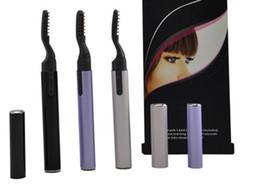 Wholesale Brand new Electric eyelash curler roll foldable heated eyelash curlers eye lashes pro makeup tools gift
