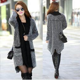 Fashion New women sweater mohair knit sweater cardigan spring autumn winter long women knitwear shawl ree shipping