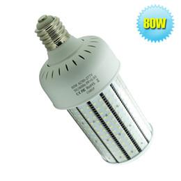 Corn Style LED High Bay Light Fixture E39 E40 LED Corn Bulbs With Clearly PC Cover 80W Canopy LED Light Retrofit Gas Station