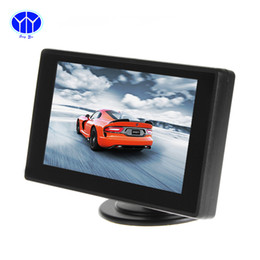 Wholesale Monitor For Reverse Camera DVD VCR Inch HD Mini TFT LCD Channels Video Input Car Parking Rear View Monitor Video Sreeen player Electr