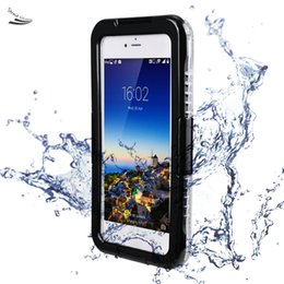 Protect Case Crystal Clear Cover for Apple iPhone 6plus Soft Silicone Waterproof Phone Shell 63