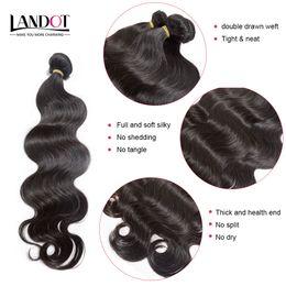 Best 10A Unprocessed Raw Brazilian Virgin Hair Body Wave Peruvian Indian Malaysian Remy Human Hair Weave Bundles Can Bleach UP 2 Years Life